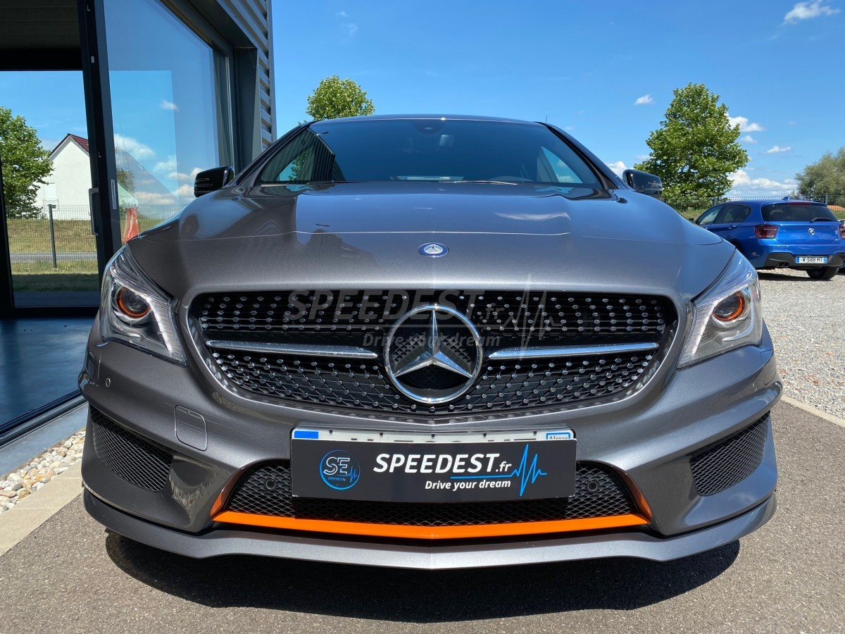 MERCEDES CLA SHOOTING BREAK P.AMG ORANGE ART